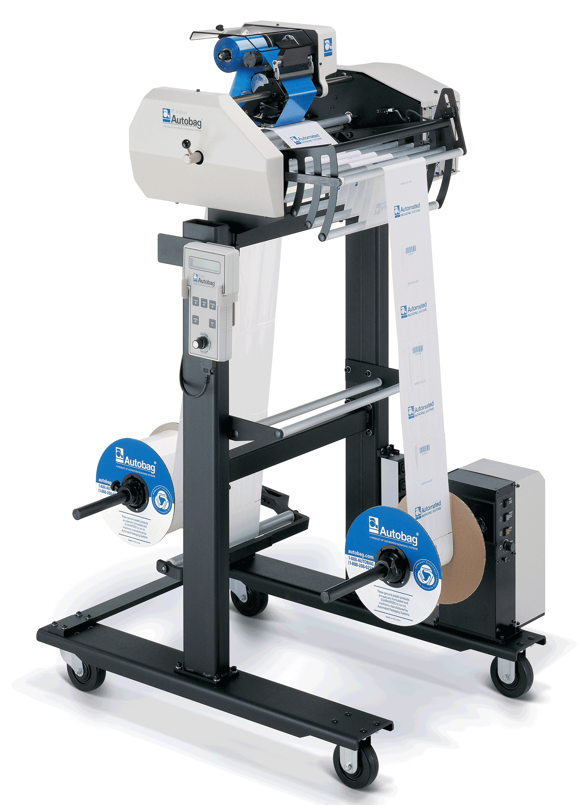 AutoLabel PI412cw Prism Stand Alone with optional rewinder